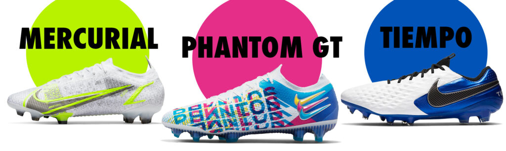 nike soccer soes category banner mercurial phantom gt and tiempo