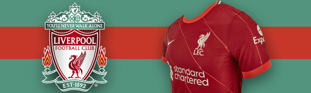 Nike Liverpool Home Match Soccer Jersey