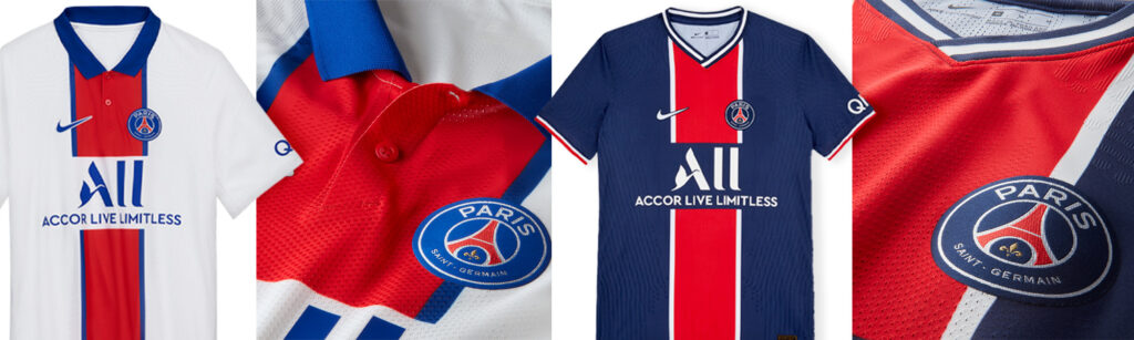 category banner for psg jerseys
