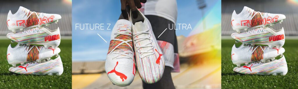 puma soccer cleats ultra and future z