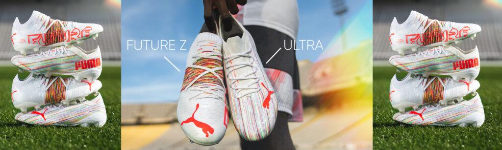 puma soccer cleats ultra and future z