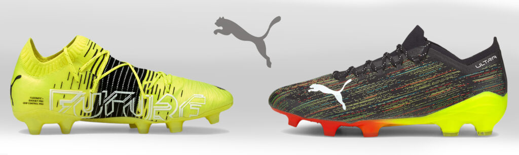 puma ultra and future z soccer shoes