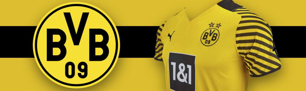 PUMA Borussia Dortmund Home Soccer Jersey