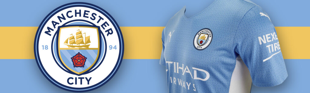PUMA Manchester City Home Authentic Soccer Jersey