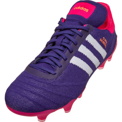 adidas Copa Mundial 21PK FG – Collegiate Purple & White with Shock Pink