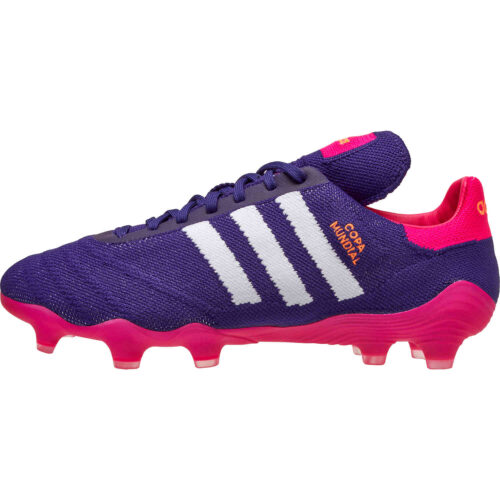adidas Copa Mundial 21PK FG – Collegiate Purple & White with Shock Pink