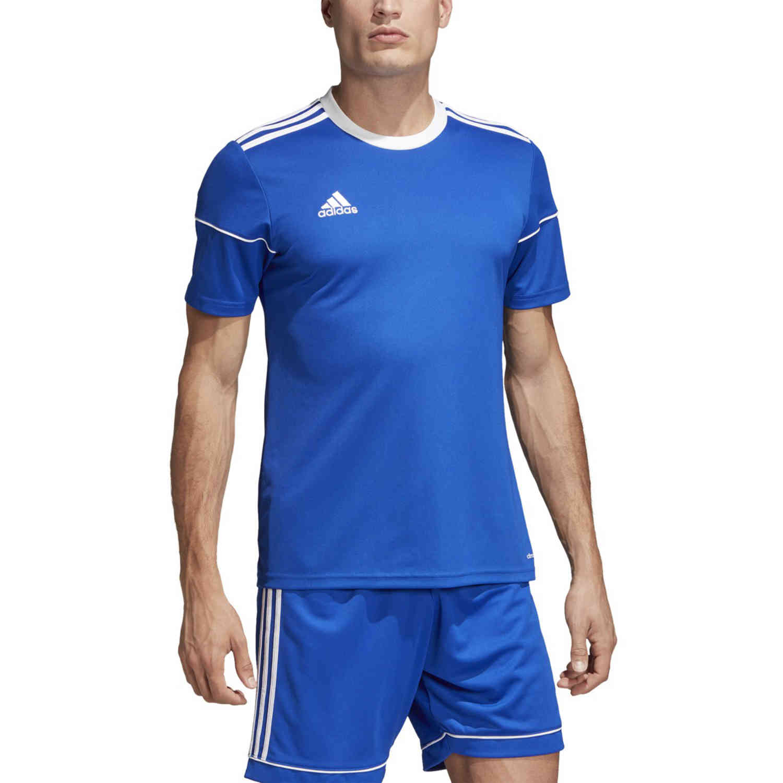 adidas Squadra 17 Jersey - Bold Blue - SoccerPro