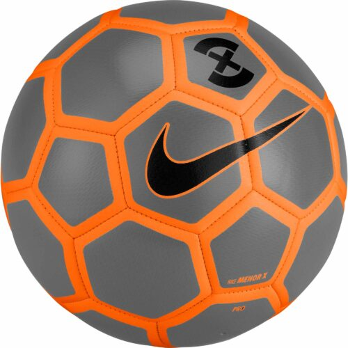 Nike Menor X Futsal Ball – Wolf Grey/Total Orange
