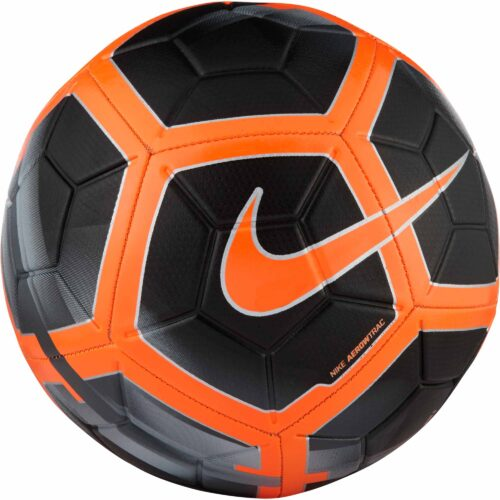 Nike Strike Soccer Ball – Black/Total Orange