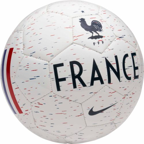 Nike France Supporter Soccer Ball – White/Obsidian