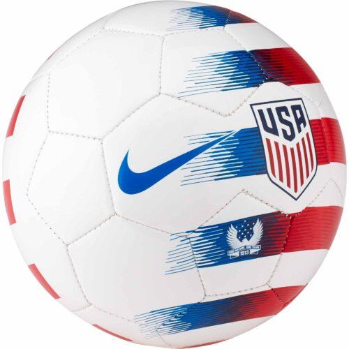 Nike USA Skills Ball – White/University Red