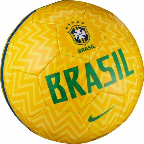 Nike Brazil Skills Ball – Gold/Lucky Green