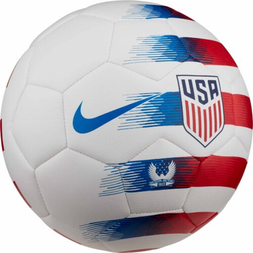 Nike USA Prestige Soccer Ball – White/University Red