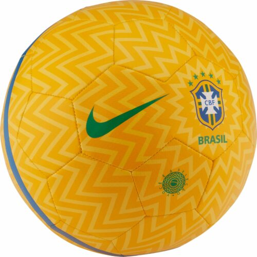 Nike Brazil Prestige Soccer Ball – Gold/Lucky Green