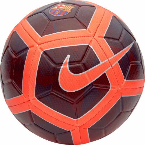Nike Barcelona Strike Soccer Ball – Night Maroon/Hyper Crimson