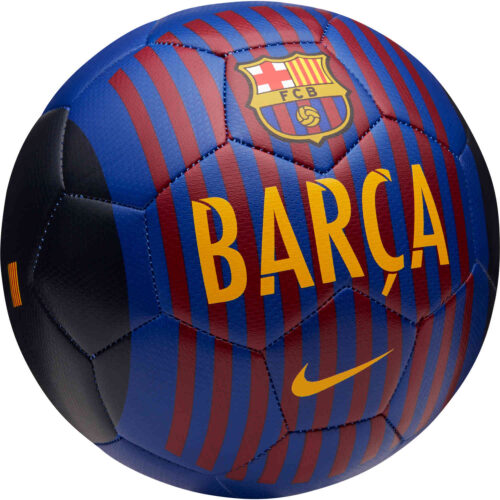 Nike Barcelona Prestige Soccer Ball – Deep Royal Blue/University Gold
