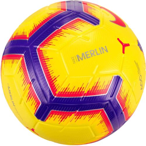 Nike Merlin Match Soccer Ball – Hi-Vis