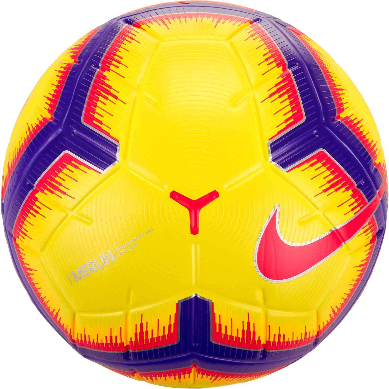 Nike Merlin Match Soccer Ball - Hi-Vis - SoccerPro