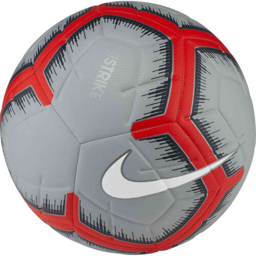 Nike Strike Soccer Ball – Pure Platinum/Wolf Grey/White
