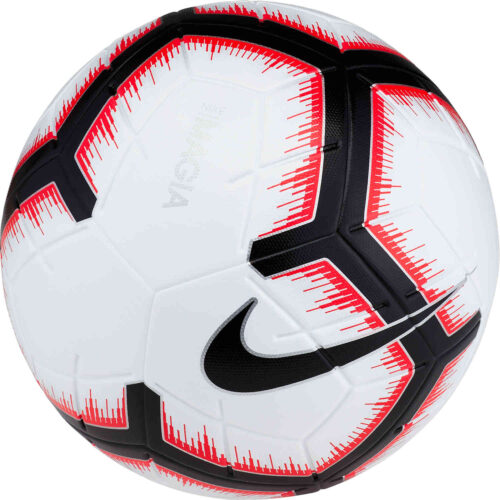 Nike Magia Match Ball – White/Bright Crimson/Black