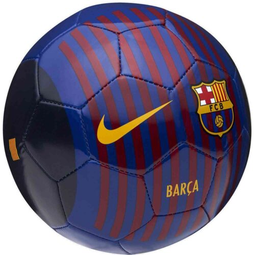Nike Barcelona Skills Ball – Deep Royal Blue/University Gold