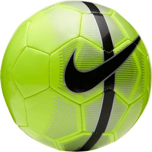 Nike Mercurial Skills Ball – Volt & Metallic Silver with Black