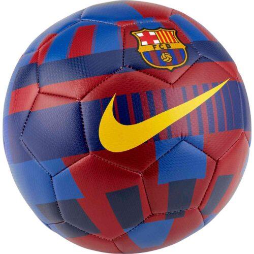 Nike Barcelona 20 Prestige Socer Ball – Storm Red/Storm Blue