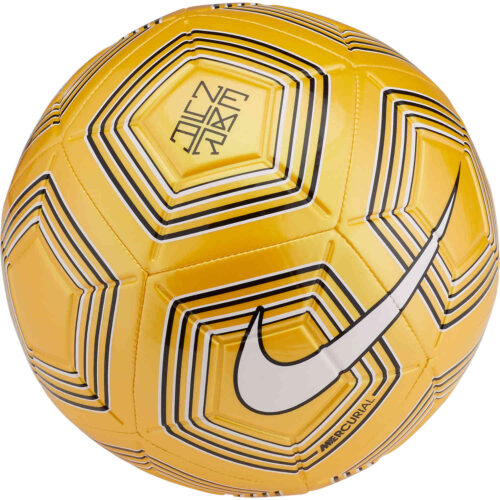 Nike Neymar Strike Soccer Ball – Amarillo/White/Black