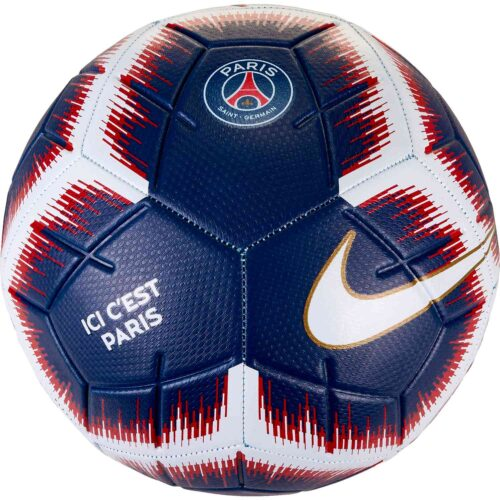 Nike PSG Strike Soccer Ball – Midnight Navy/Challenge Red