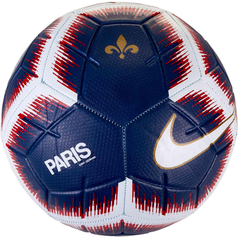 Nike Psg Strike Soccer Ball Midnight Navy Challenge Red Soccerpro