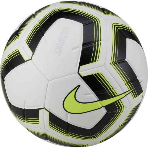 Nike Team Strike Team Soccer Ball – White/Black/Volt
