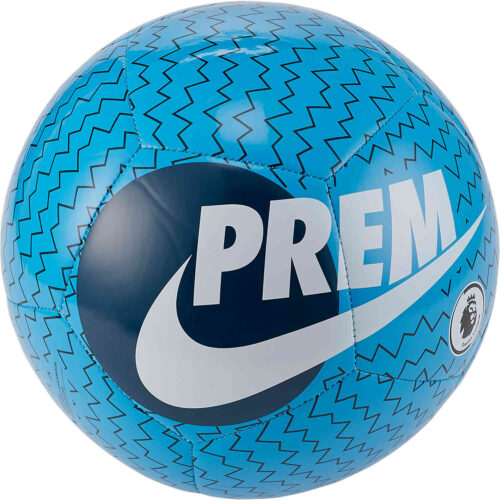 Nike Premier League Pitch Soccer Ball – Laser Blue & Valerian Blue with White