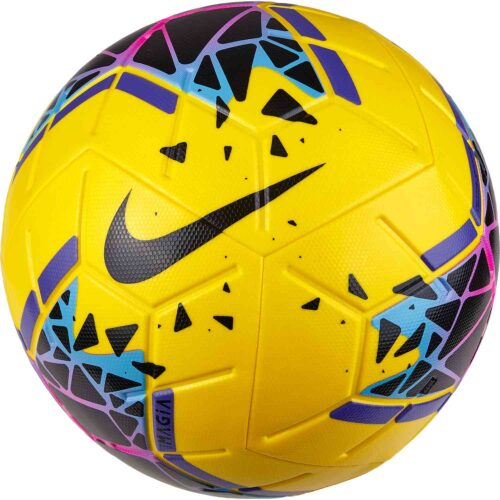 Nike Magia Match Soccer Ball – Yellow/Black/Purple