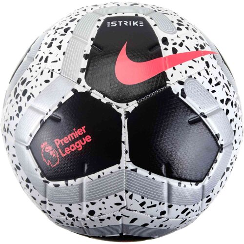 Nike Strike Pro Soccer Ball – White/Black/Racer Pink/Metallic Silver