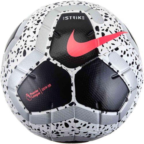 Nike Strike Pro Soccer Ball – White/Black/Racer Pink/Metallic Silver