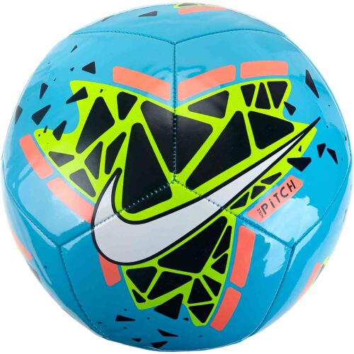 Nike Pitch Training Soccer Ball – Blue Hero/Obsidian/Bright Mango/White