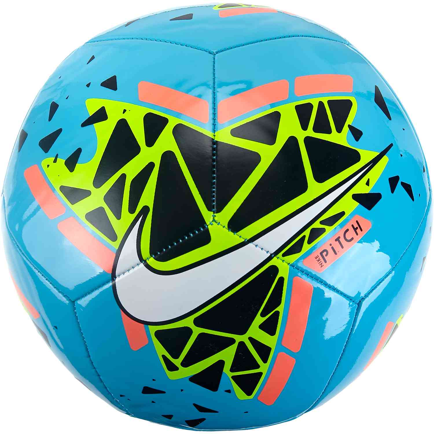 united kingdom huge sale best place Nike Pitch Training Soccer Ball - Blue Hero/Obsidian/Bright Mango ...