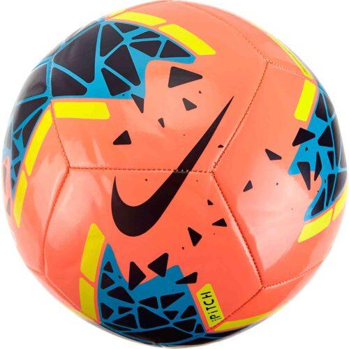 Nike Pitch Training Soccer Ball – Bright Mango/Obsidian/Volt