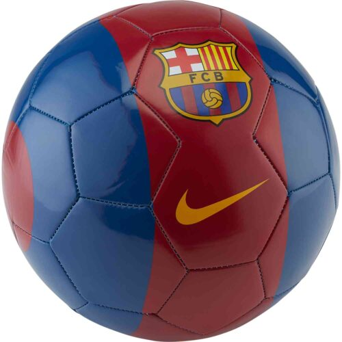 Nike Barcelona Supporters Soccer Ball – Storm Red/Gym Blue