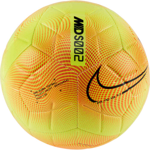 Nike M Series Strike Soccer Ball – Lemon Venom & Total Orange with Black