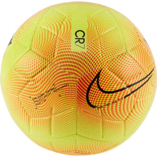 Nike M Series Strike Soccer Ball – Lemon Venom & Total Orange with Black