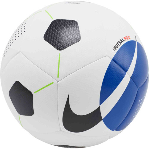 Nike Pro Futsal Ball – White/Racer Blue/Black
