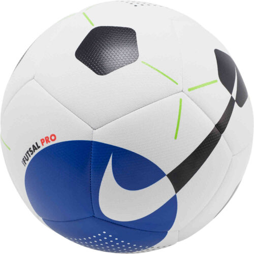 Nike Pro Futsal Ball – White/Racer Blue/Black