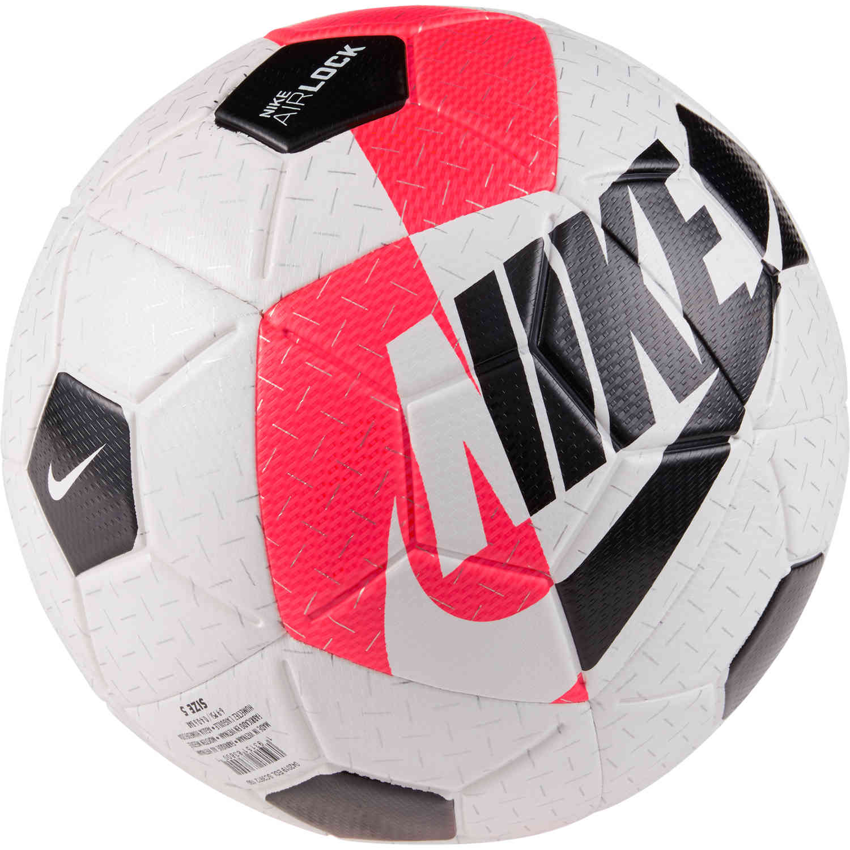 Nike Airlock Street X Soccer Ball White Bright Crimson Black Soccerpro