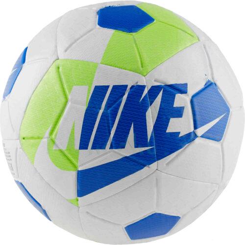 Nike Airlock Street X Soccer Ball – White/Volt/Black