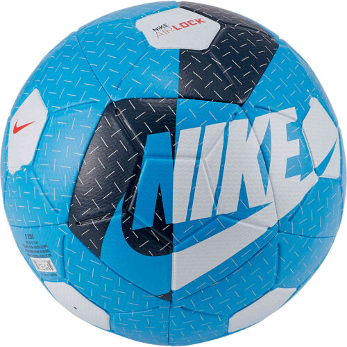Nike Airlock Street Soccer Ball – Laser Blue & Valerian Blue with White