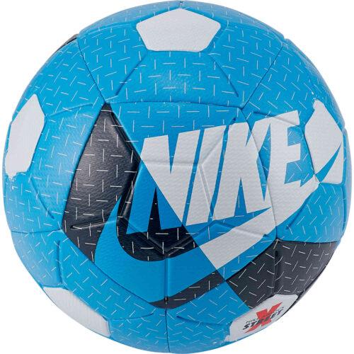 Nike Airlock Street Soccer Ball – Laser Blue & Valerian Blue with White