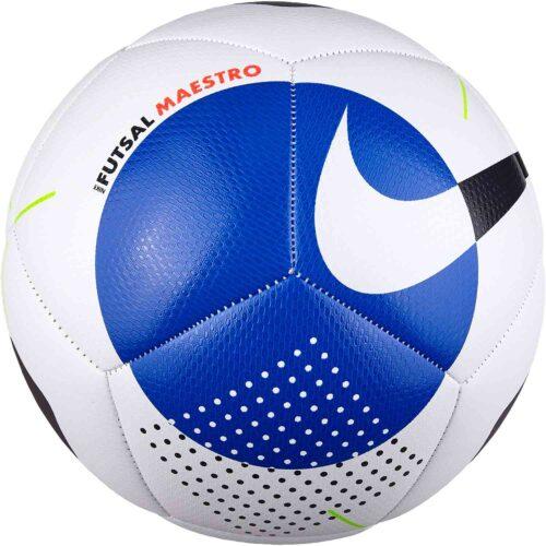 Nike Maestro Futsal Ball – White/Racer Blue/Black