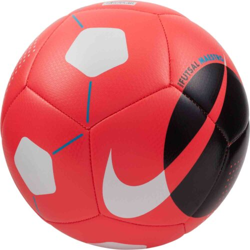 Nike Maestro Futsal Ball – Laser Crimson & Black with White