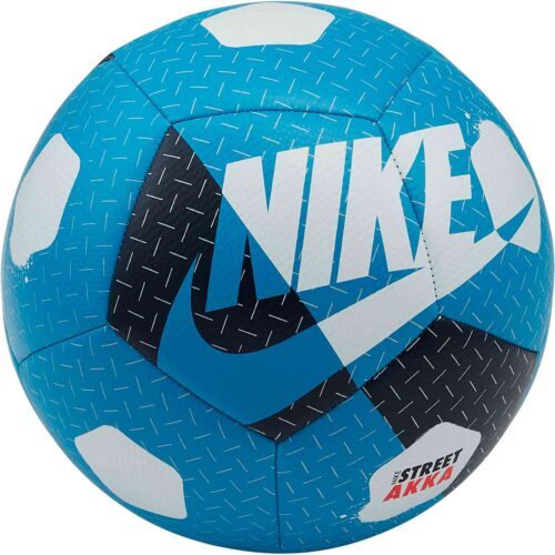Nike Akka Street Soccer Ball – Laser Blue & Valerian Blue with White